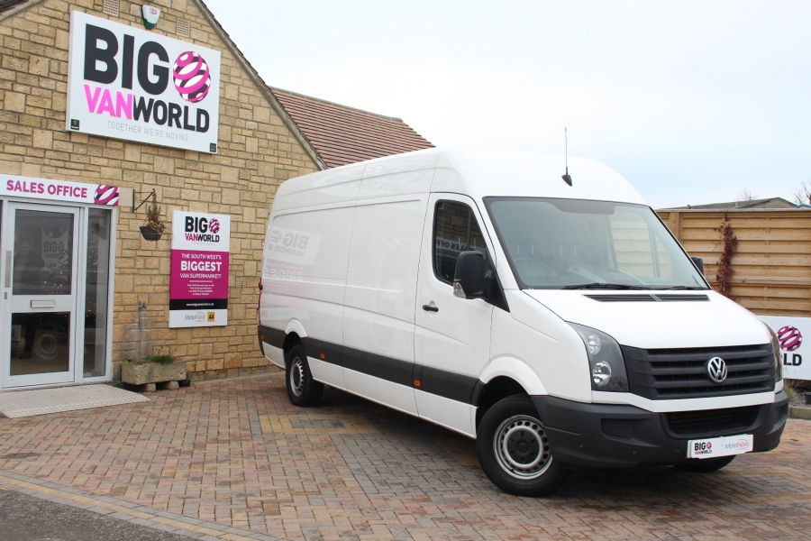 VOLKSWAGEN CRAFTER CR35 TDI 136 LWB HIGH ROOF - 6890 - 1