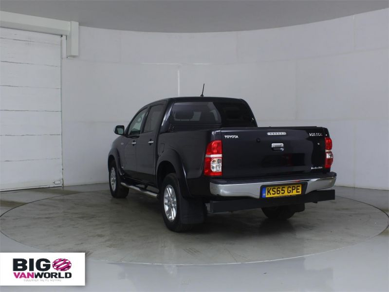 TOYOTA HI-LUX INVINCIBLE 4X4 D-4D 169 DOUBLE CAB WITH ROLL'N'LOCK TOP - 7308 - 4