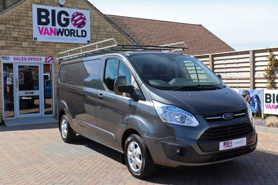 FORD TRANSIT CUSTOM 290 TDCI 125 L2 H1 LIMITED LWB LOW ROOF FWD - 9467 - 2