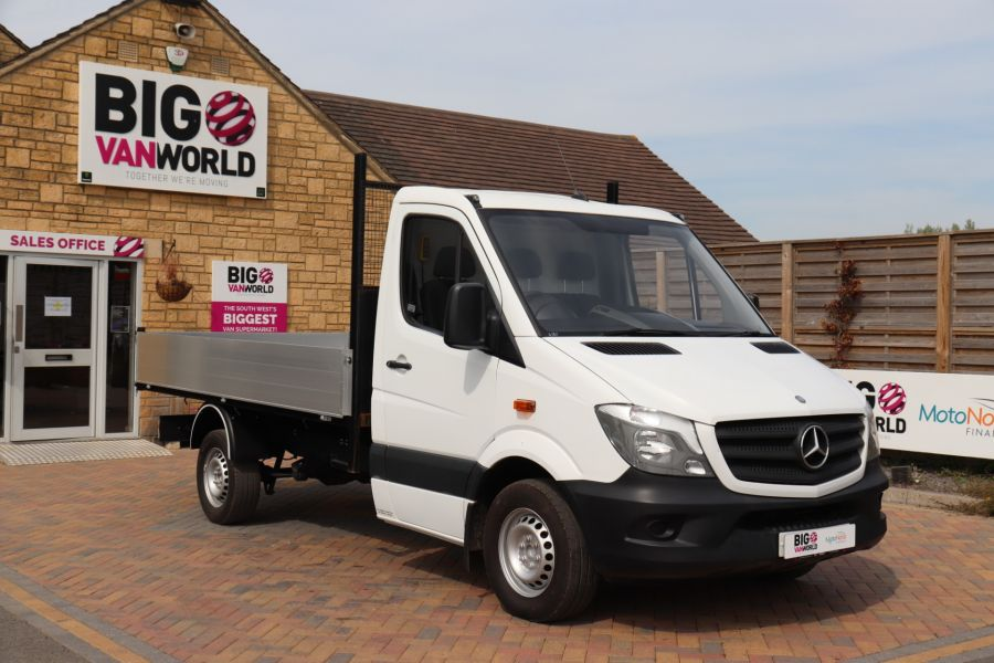 MERCEDES SPRINTER 313 CDI 129 MWB SINGLE CAB NEW BUILD ALLOY TIPPER - 10678 - 13