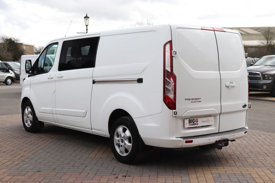 FORD TRANSIT CUSTOM 310 TDCI 130 L2H1 LIMITED DOUBLE CAB 6 SEAT CREW VAN LWB LOW ROOF FWD  (13819) - 12104 - 10