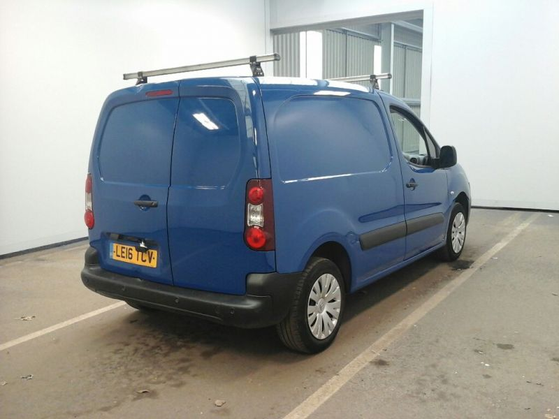CITROEN BERLINGO 625 HDI 75 L1H1 ENTERPRISE SWB LOW ROOF - 9991 - 2