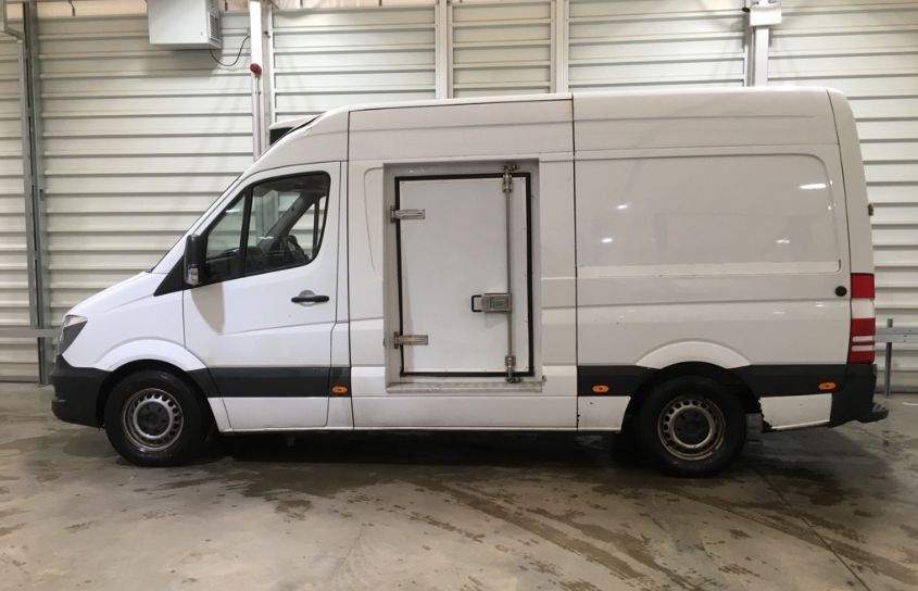 MERCEDES SPRINTER 313 CDI 129 MWB HIGH ROOF FRIDGE/FREEZER VAN WITH OVERNIGHT - 11238 - 7