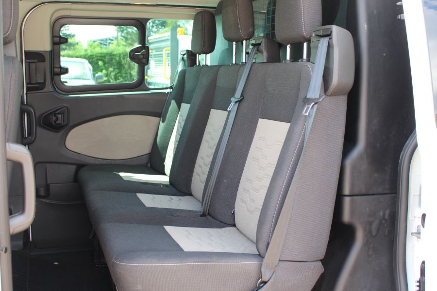FORD TRANSIT CUSTOM 290 TDCI 125 L1 H1 LIMITED SWB DOUBLE CAB 6 SEAT CREW VAN FWD - 9206 - 23