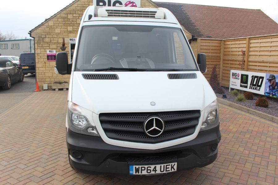 MERCEDES SPRINTER 313 CDI MWB HIGH ROOF FRIDGE / FREEZER VAN WITH OVERNIGHT - 7254 - 9