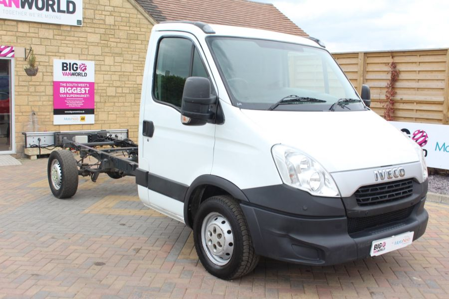 IVECO DAILY 35S11 SINGLE CAB CHASSIS CAB 3750 WB - 7590 - 1