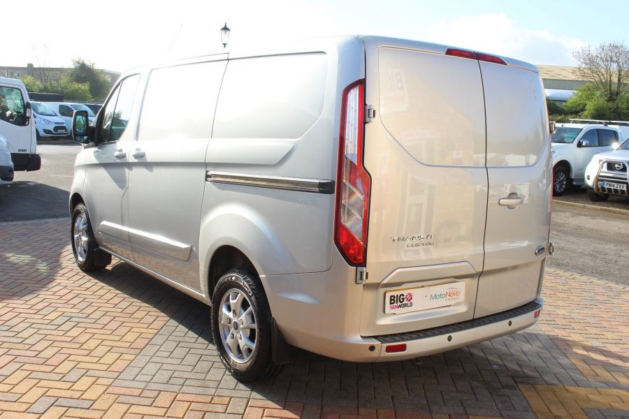 FORD TRANSIT CUSTOM 270 TDCI 125 L1 H1 LIMITED SWB LOW ROOF FWD - 7620 - 7