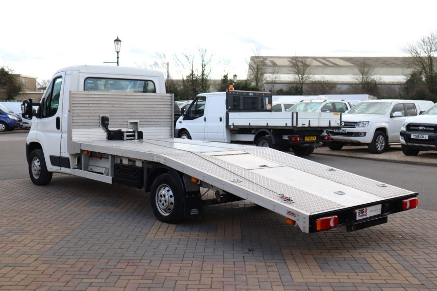 PEUGEOT BOXER 335 HDI 130 L3 LWB SINGLE CAB ALLOY RECOVERY TRUCK VEHICLE TRANSPORTER WITH ELECTRIC WINCH - 10593 - 8