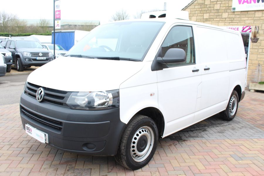 VOLKSWAGEN TRANSPORTER T26 TDI 84 STARTLINE SWB LOW ROOF FRIDGE VAN - 7334 - 8