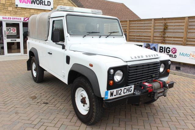 Used LAND ROVER DEFENDER 110 in Used Vans Swindon for sale