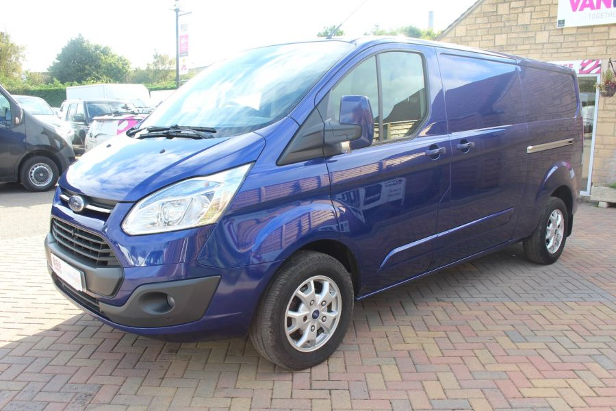 FORD TRANSIT CUSTOM 310 TDCI 155 L2 H1 LIMITED LWB LOW ROOF - 6620 - 8