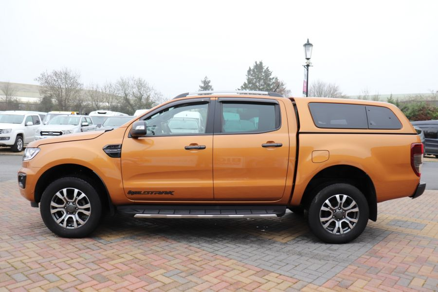 FORD RANGER WILDTRAK 2.0 ECOBLUE 213 4X4 DOUBLE CAB WITH TRUCKMAN TOP - 11613 - 11