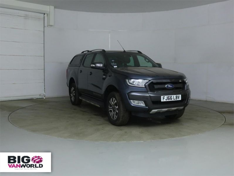 FORD RANGER WILDTRAK TDCI 200 4X4 DOUBLE CAB WITH TRUCKMAN TOP - 8963 - 2
