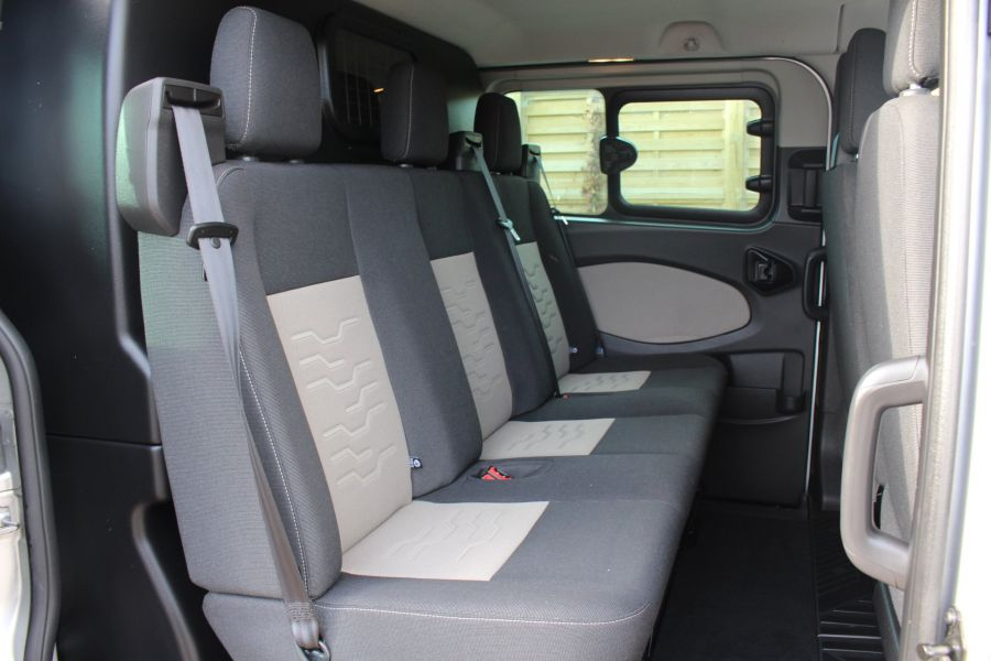 FORD TRANSIT CUSTOM 290 TDCI 125 L1 H1 LIMITED DOUBLE CAB 6 SEAT CREW VAN SWB LOW ROOF FWD - 6791 - 22