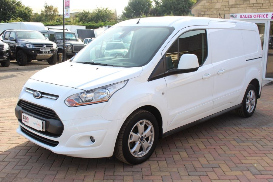 FORD TRANSIT CONNECT 240 TDCI 115 LIMITED L2 H1 LWB - 6165 - 8