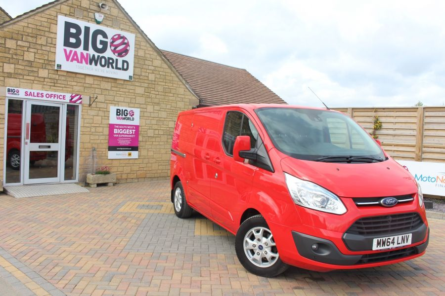 FORD TRANSIT CUSTOM 290 TDCI 125 L1 H1 LIMITED SWB LOW ROOF FWD - 9116 - 2