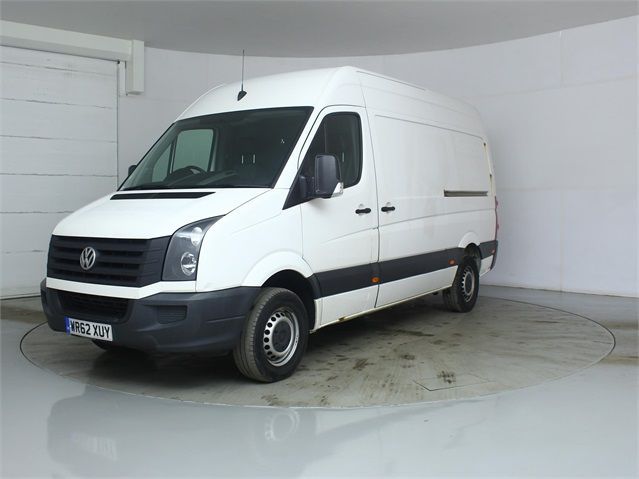 VOLKSWAGEN CRAFTER CR35 TDI 136 MWB HIGH ROOF - 7596 - 5