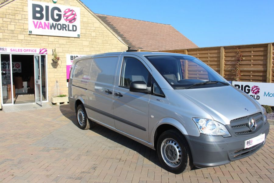 MERCEDES VITO 113 CDI BLUEEFFICIENCY LWB LOW ROOF - 5382 - 2