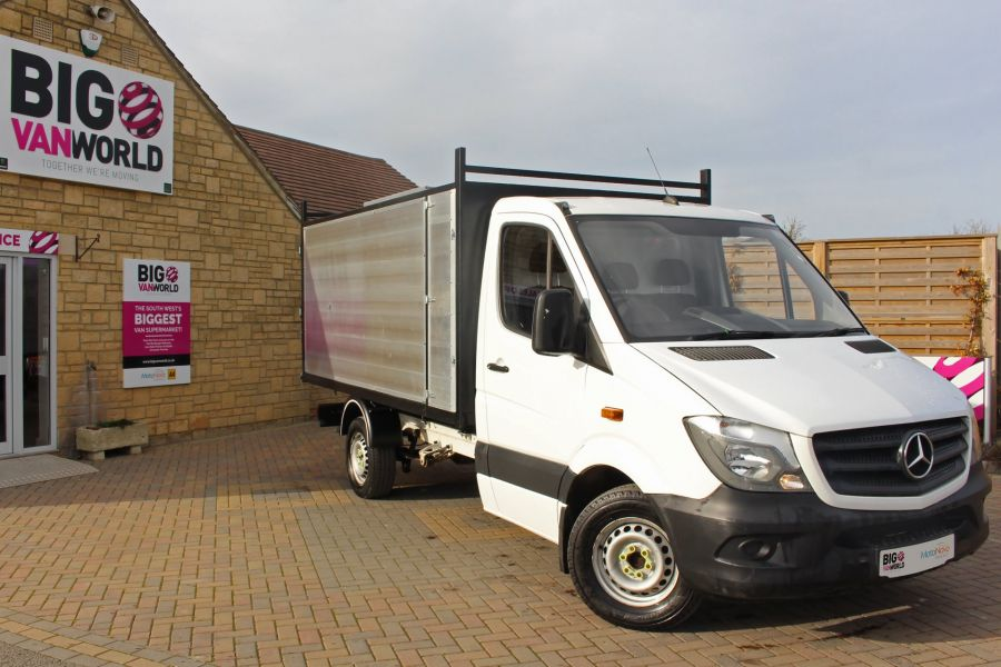 MERCEDES SPRINTER 313 CDI 129 MWB SINGLE CAB NEW BUILD ARBORIST ALLOY TIPPER - 10501 - 10