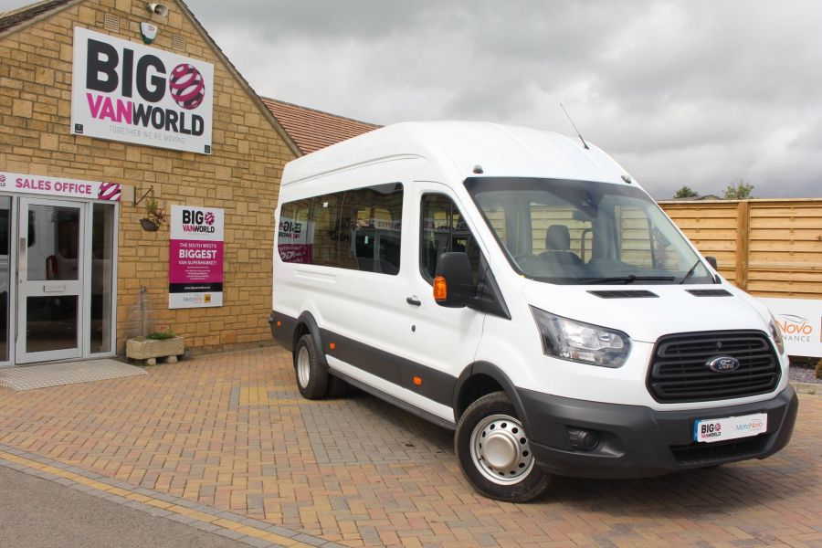 FORD TRANSIT 460 TDCI 125 L4 H3 LWB HIGH ROOF 17 SEAT BUS RWD - 6608 - 1