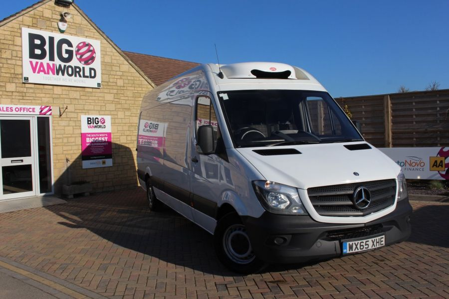 MERCEDES SPRINTER 313 CDI 129 LWB FRIDGE VAN HIGH ROOF - 9146 - 2