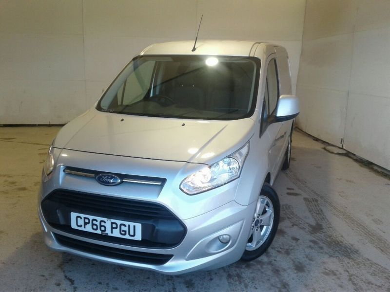 FORD TRANSIT CONNECT 200 TDCI 120 L1H1 LIMITED SWB LOW ROOF - 10459 - 1