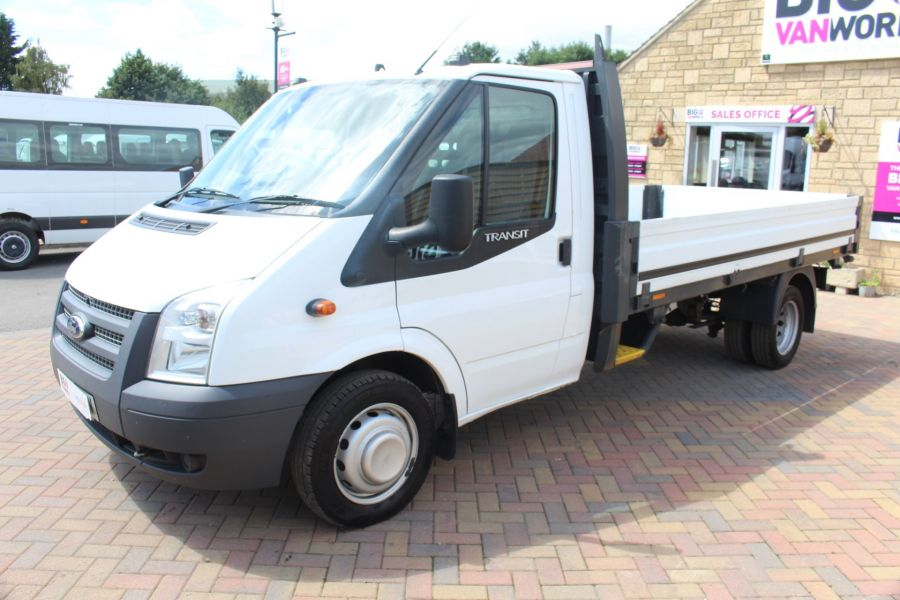 FORD TRANSIT 350 TDCI 155 LWB SINGLE CAB 'ONE STOP' 12FT 6IN ALLOY DROPSIDE RWD - 6220 - 8