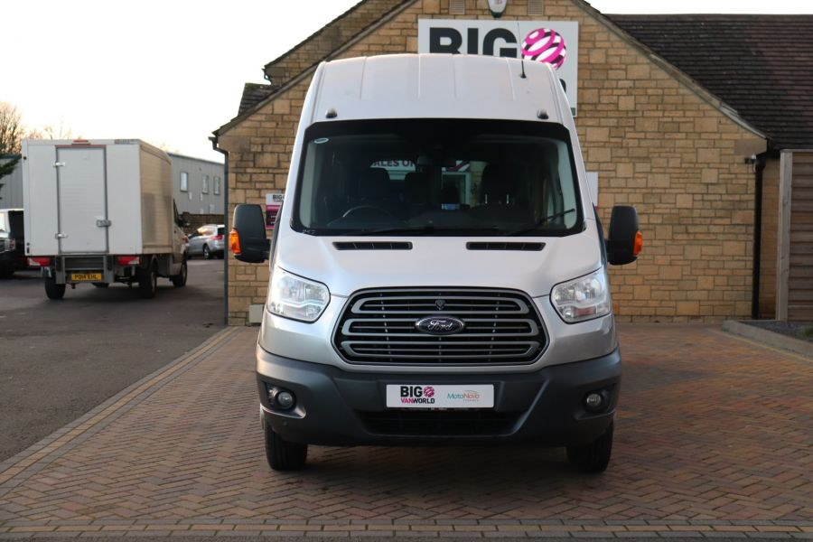 FORD TRANSIT 460 TDCI 155 L4H3 TREND 17 SEAT BUS HIGH ROOF DRW RWD - 10109 - 10
