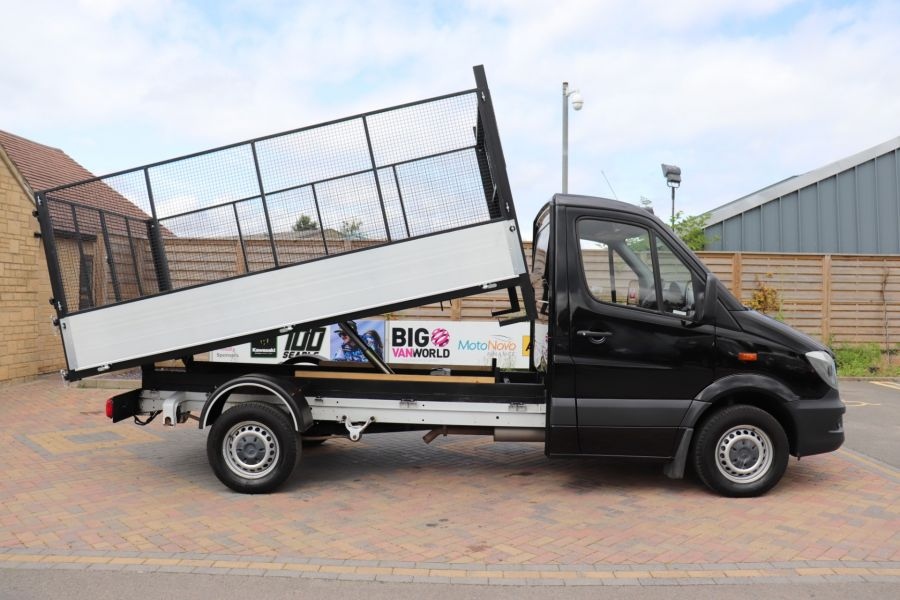 MERCEDES SPRINTER 313 CDI 129 MWD SINGLE CAB NEW BUILD ALLOY CAGED TIPPER - 10235 - 12