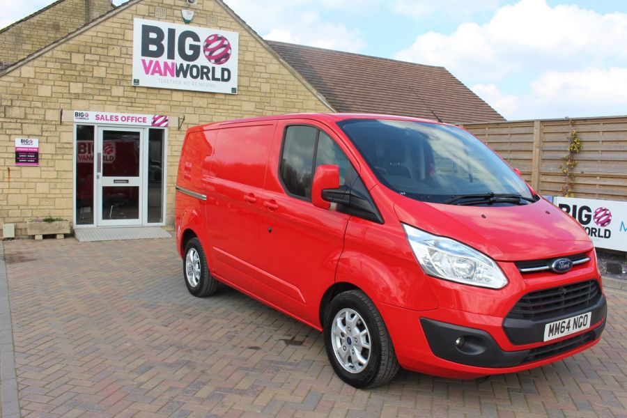 FORD TRANSIT CUSTOM 290 TDCI 125 L1 H1 LIMITED SWB LOW ROOF FWD - 9115 - 3