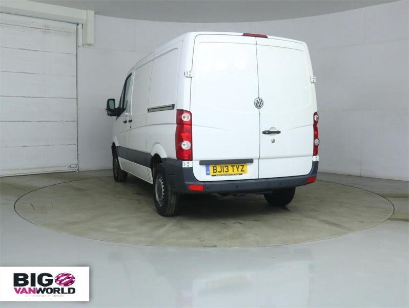 VOLKSWAGEN CRAFTER CR30 TDI 109 SWB LOW ROOF - 8938 - 4