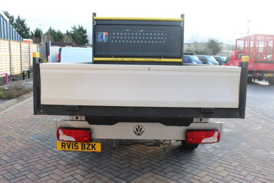 VOLKSWAGEN CRAFTER CR35 TDI 109 LWB 7 SEAT DOUBLE CAB ALLOY DROPSIDE - 9019 - 6
