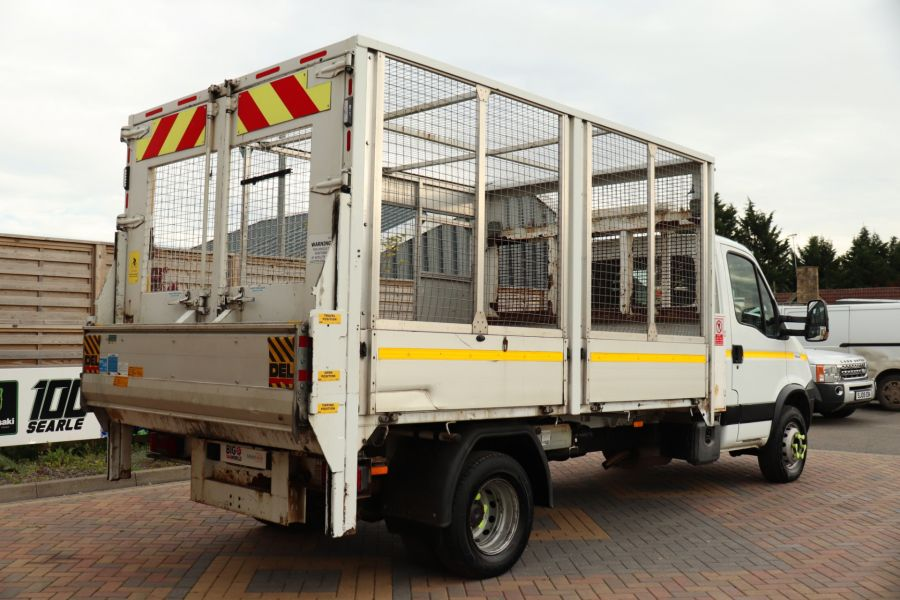 IVECO DAILY 70C18 3450 WB SINGLE CAB ALLOY CAGED TIPPER WITH TAIL LIFT - 9614 - 7