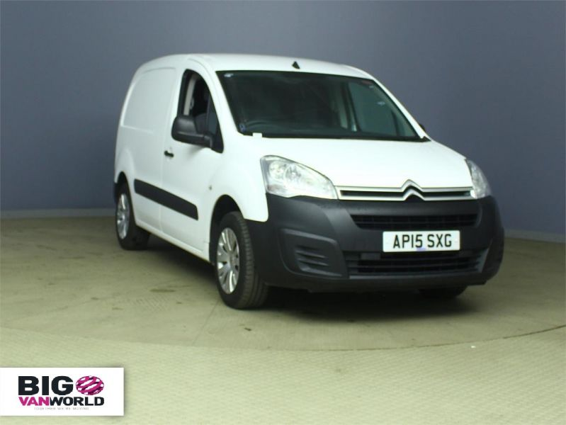 CITROEN BERLINGO 625 HDI 75 L1 H1 ENTERPRISE SWB LOW ROOF - 6663 - 1