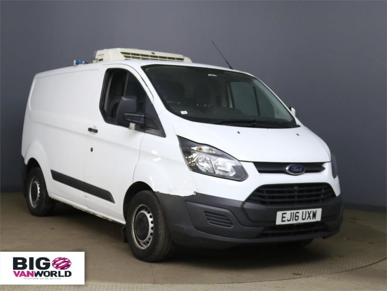 FORD TRANSIT CUSTOM 290 TDCI 125 L1H1 FREEZER VAN SWB LOW ROOF WITH OVERNIGHT - 10169 - 1