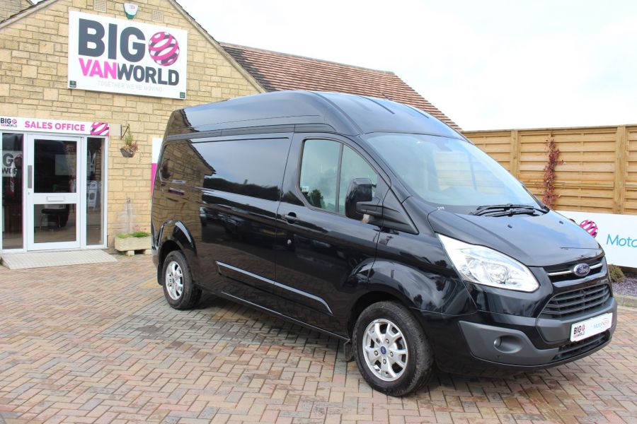 FORD TRANSIT CUSTOM 290 TDCI 155 L2 H2 LIMITED LWB HIGH ROOF FWD - 6755 - 2