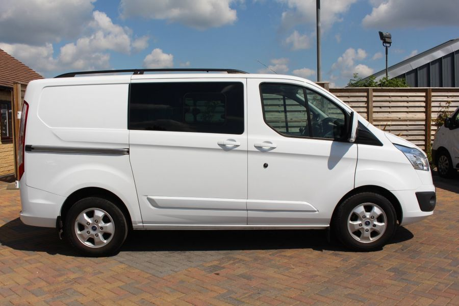FORD TRANSIT CUSTOM 290 TDCI 125 L1 H1 LIMITED SWB DOUBLE CAB 6 SEAT CREW VAN FWD - 9206 - 4