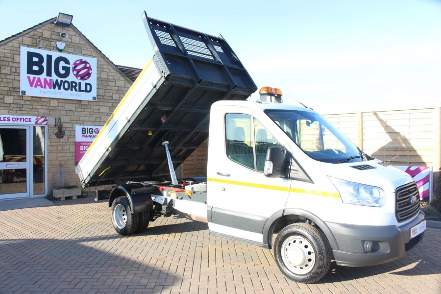FORD TRANSIT 350 TDCI 125 SINGLE CAB 'ONE STOP' ALLOY TIPPER DRW - 7213 - 2