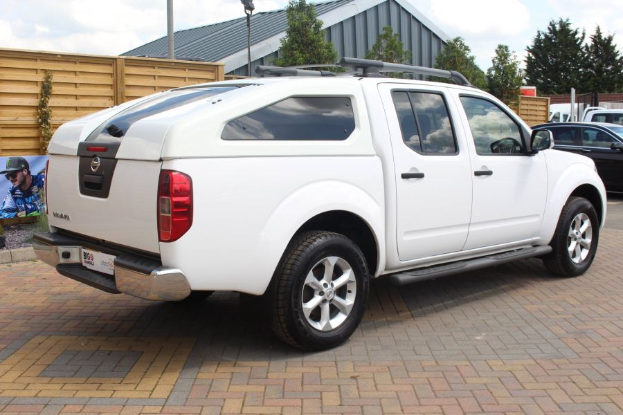 NISSAN NAVARA DCI 190 TEKNA CONNECT 4X4 DOUBLE CAB WITH SPORT TRUCKMAN TOP - 6296 - 5