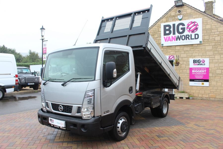 NISSAN NT400 CABSTAR DCI 35.14 SWB ALLOY TIPPER - 6520 - 7
