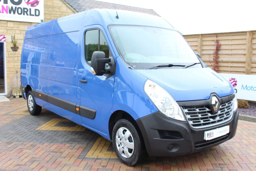 RENAULT MASTER LM35 DCI 135 BUSINESS PLUS ENERGY LWB MEDIUM ROOF FWD - 7655 - 1
