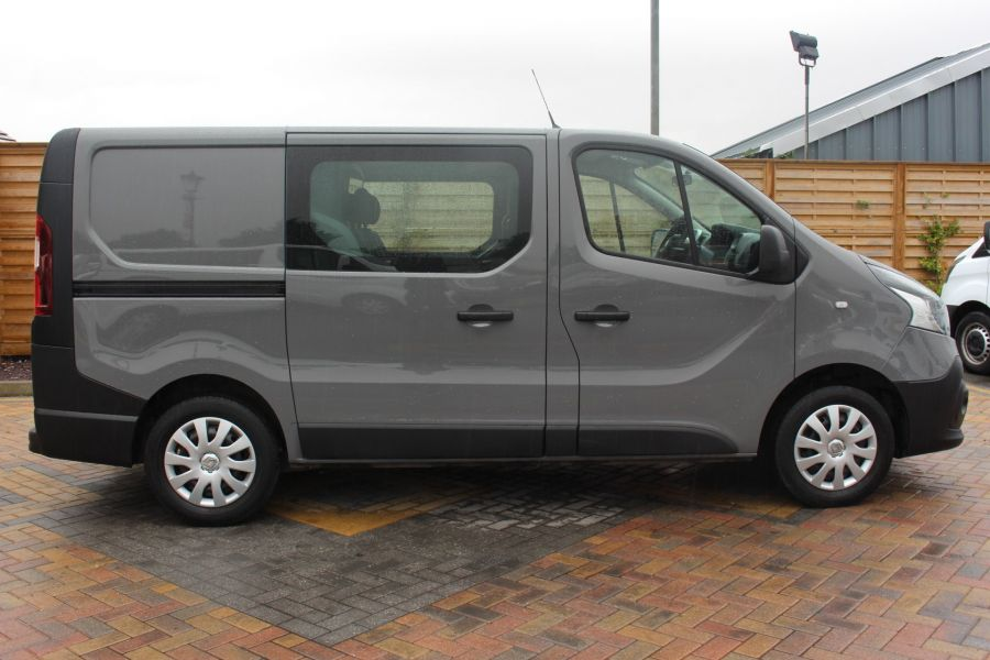 RENAULT TRAFIC SL27 DCI 115 BUSINESS DOUBLE CAB 6 SEAT CREW VAN SWB LOW ROOF - 8178 - 4