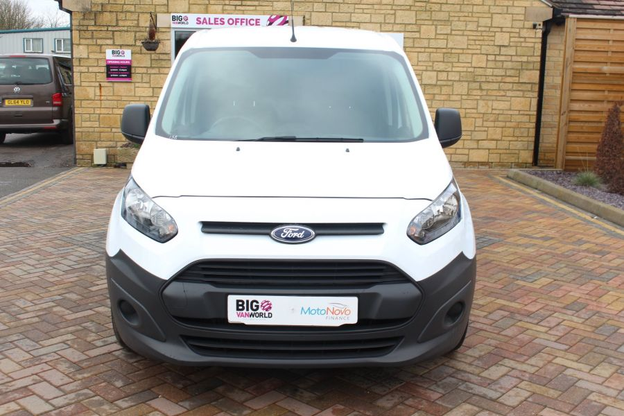 FORD TRANSIT CONNECT 220 TDCI 75 L1 H1 DOUBLE CAB 5 SEAT CREW VAN - 7182 - 9