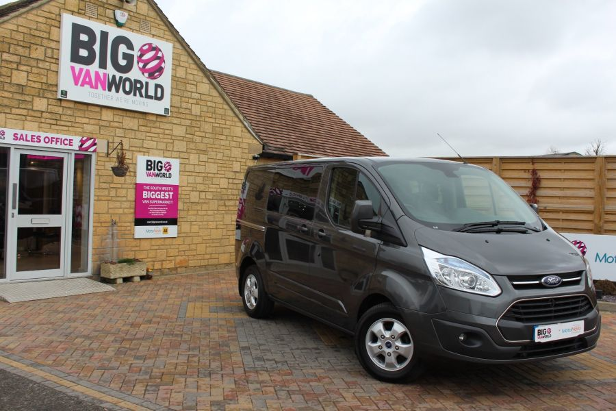 FORD TRANSIT CUSTOM 290 TDCI 125 L1 H1 LIMITED DOUBLE CAB 6 SEAT CREW VAN SWB LOW ROOF FWD - 7542 - 2