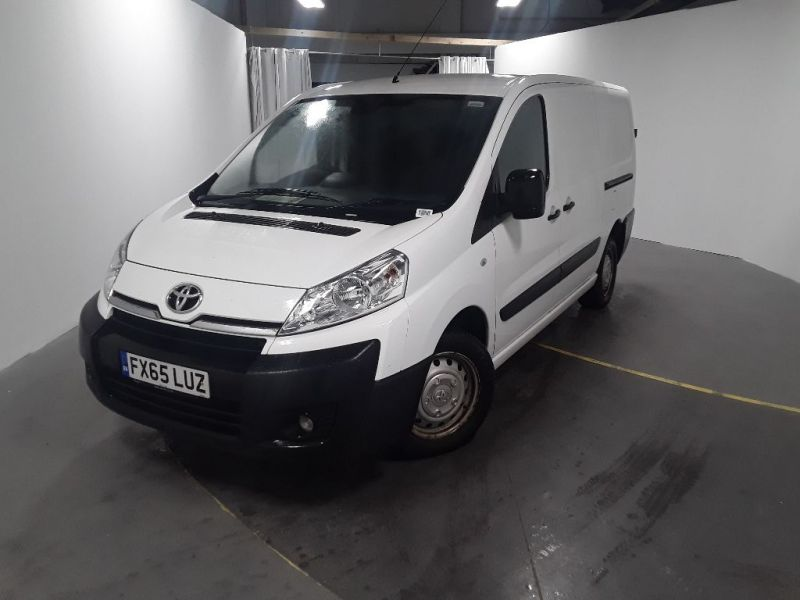 TOYOTA PROACE 1200 HDI 128 L2H1 LWB LOW ROOF - 12138 - 1