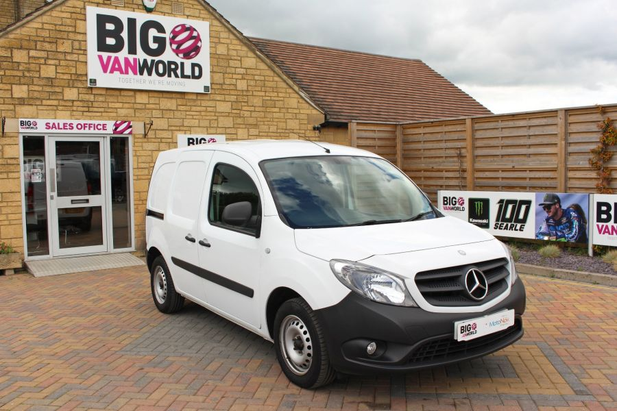 MERCEDES CITAN 109 CDI 90 LWB LOW ROOF - 9392 - 2