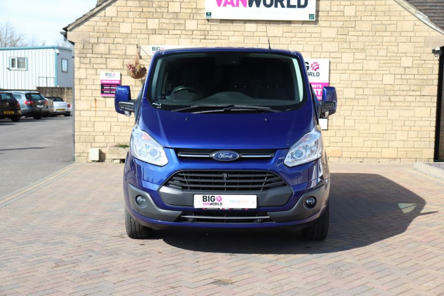 FORD TRANSIT CUSTOM 310 TDCI 130 L1H1 LIMITED DOUBLE CAB 6 SEAT CREW VAN FWD - 10553 - 10