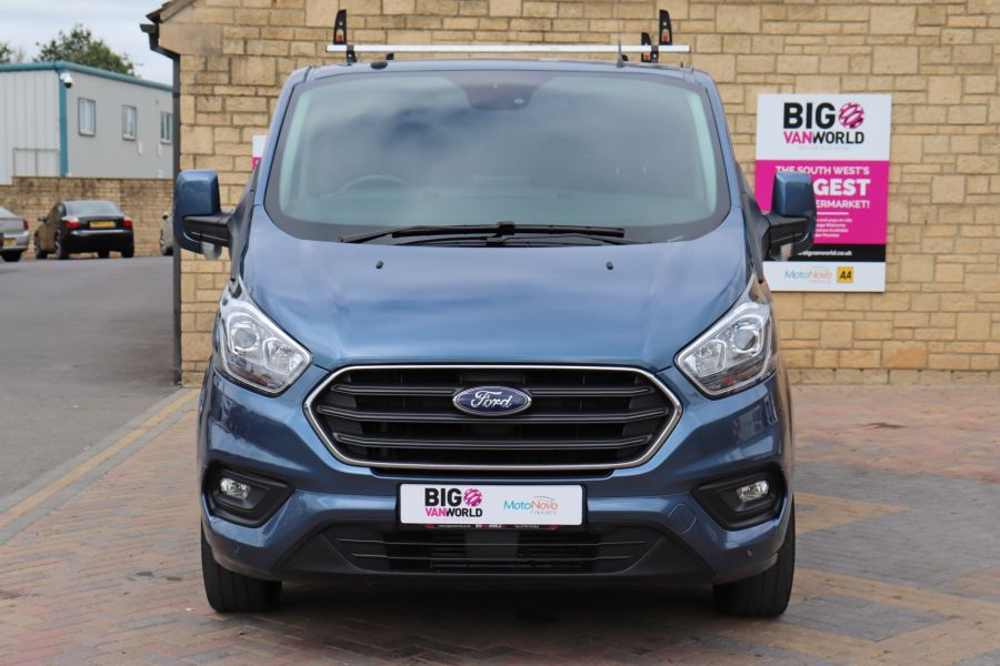 FORD TRANSIT CUSTOM 320 TDCI 130 L2 H1 LIMITED DOUBLE CAB 6 SEAT CREW VAN LWB LOW ROOF FWD - 9606 - 10