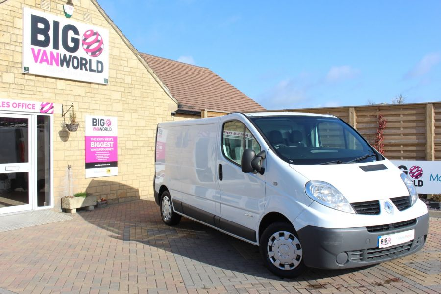 RENAULT TRAFIC LL29 DCI 115 LWB LOW ROOF - 7644 - 2