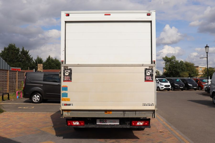 FORD TRANSIT 350 TDCI 170 L4 'ONE STOP' LUTON WITH TAIL LIFT DRW RWD  - 9531 - 6